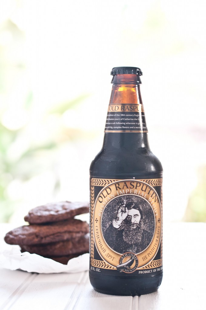 stout cookies bottle