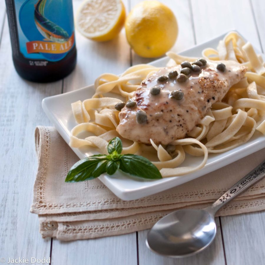 Beer Chicken Picatta