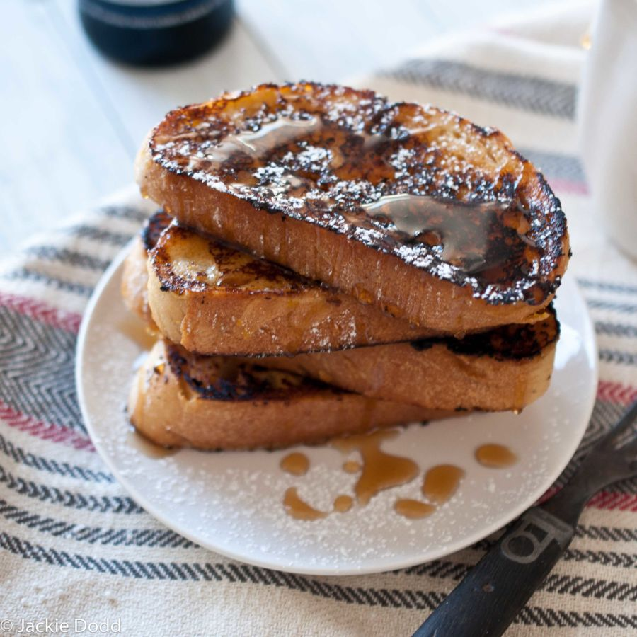 Vanilla Bean Smoked Porter French Toast