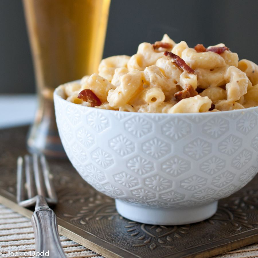 Stove Top Beer Bacon Mac and Cheese 4