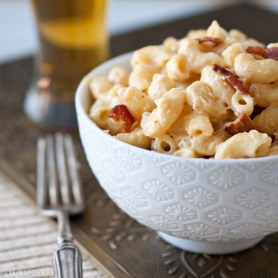 Stove Top Beer Bacon Mac and Cheese_