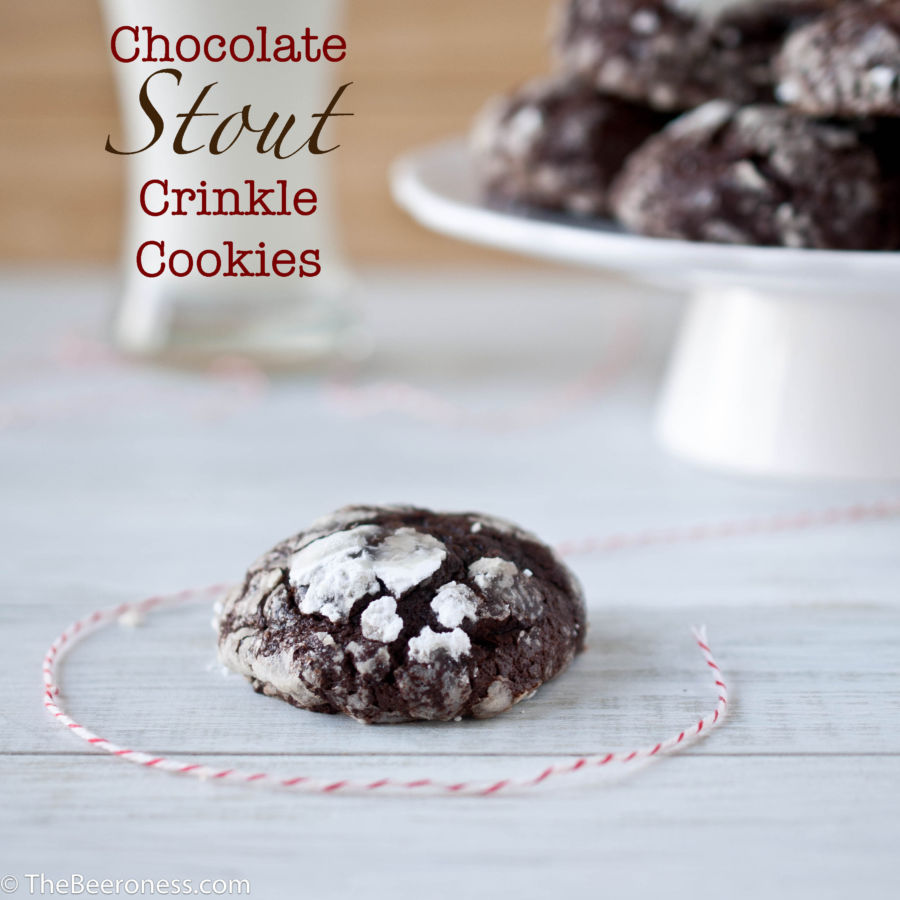 Chocolate Stout Crinkle Cookies2P