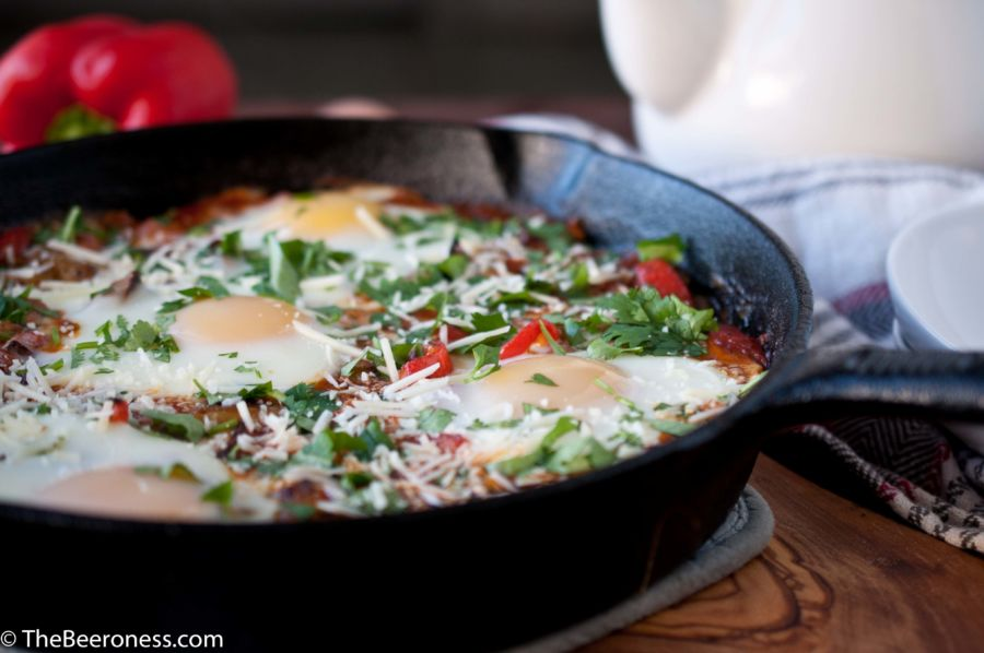 "24 thoughts on "" Chorizo Egg Breakfast Skillet """