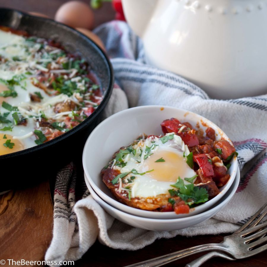 Chorizo Egg Breakfast Skillet