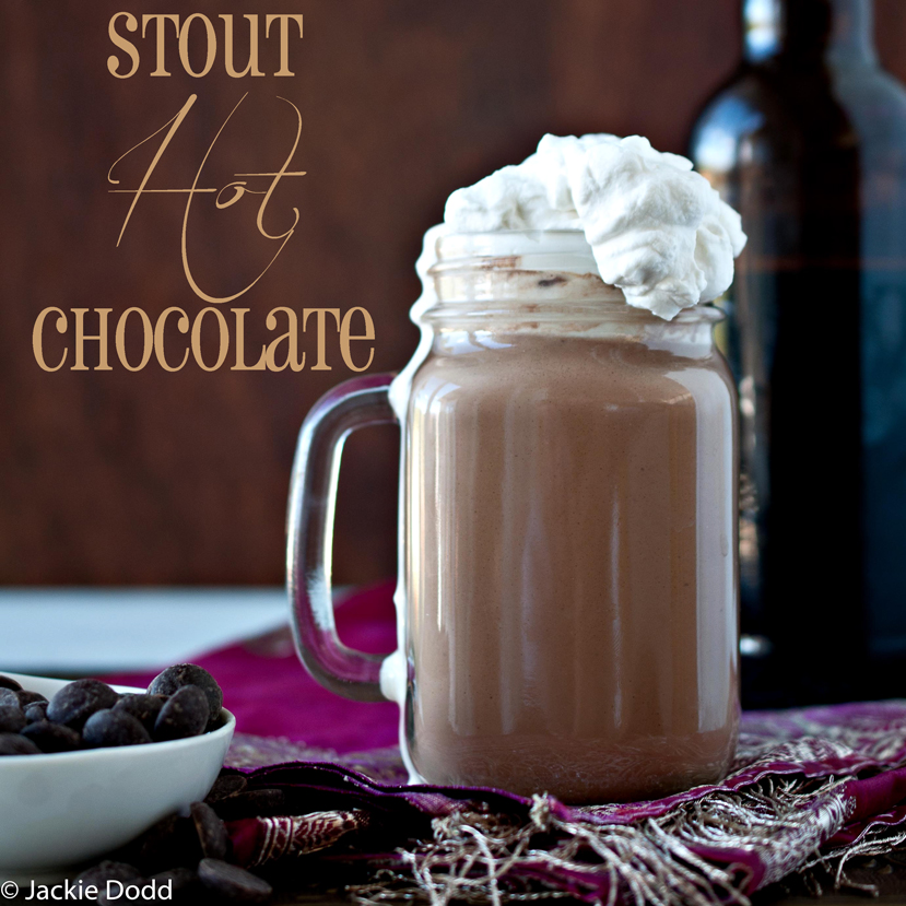 Stout Hot Chocolate with Stout Whipped Cream