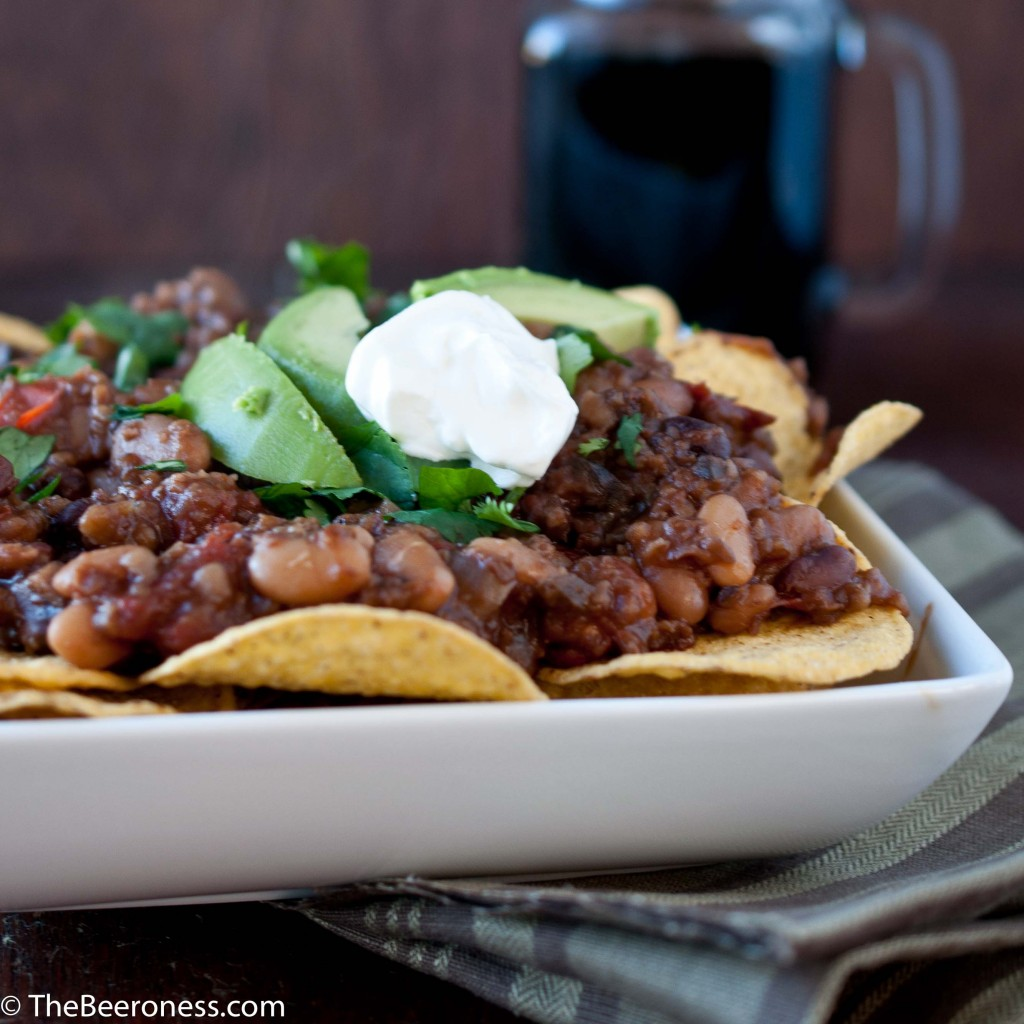 Vegan Chipotle Stout Chili With Cashew Cream
