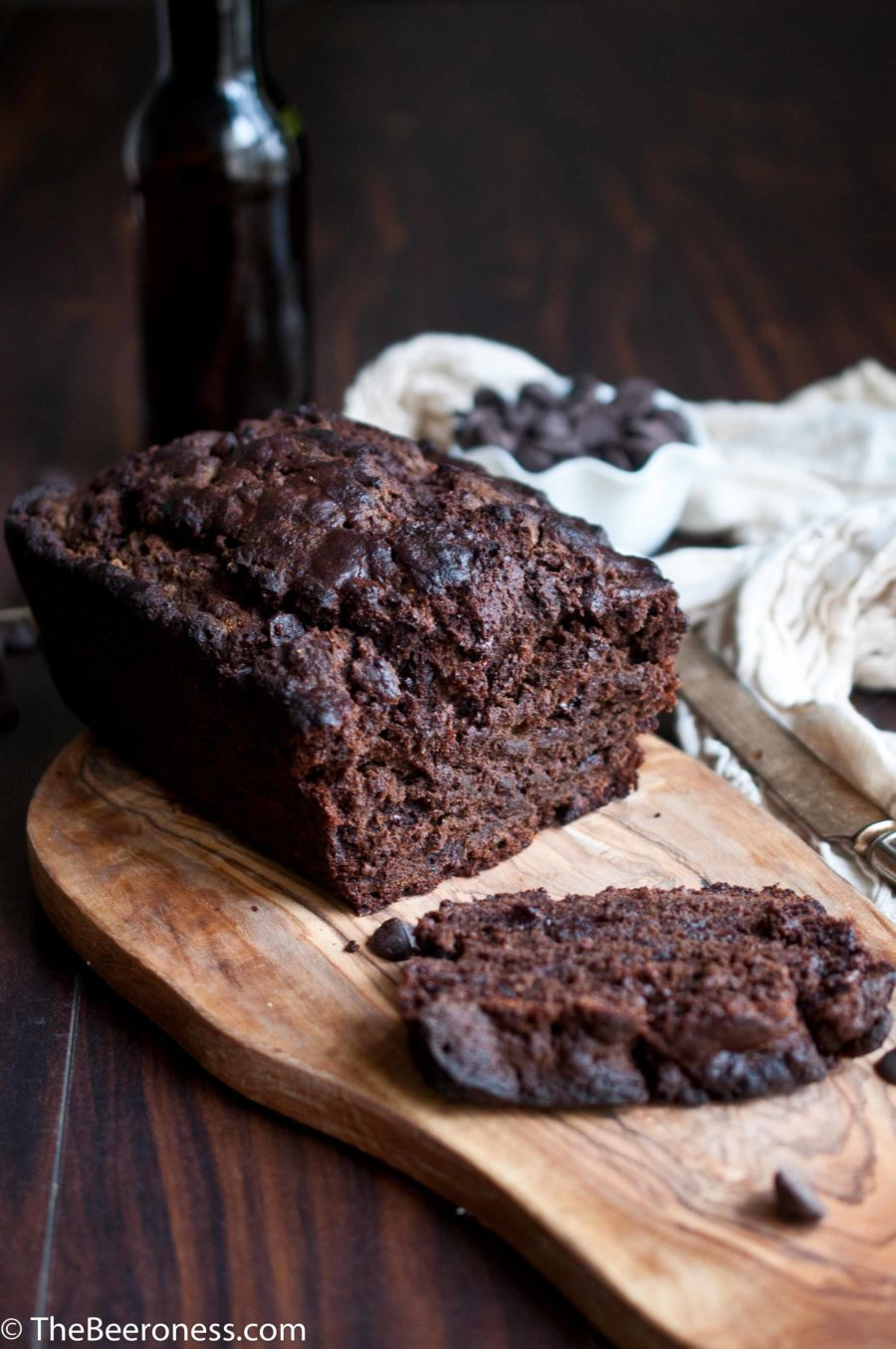 Chocolate Stout Muffin Bread