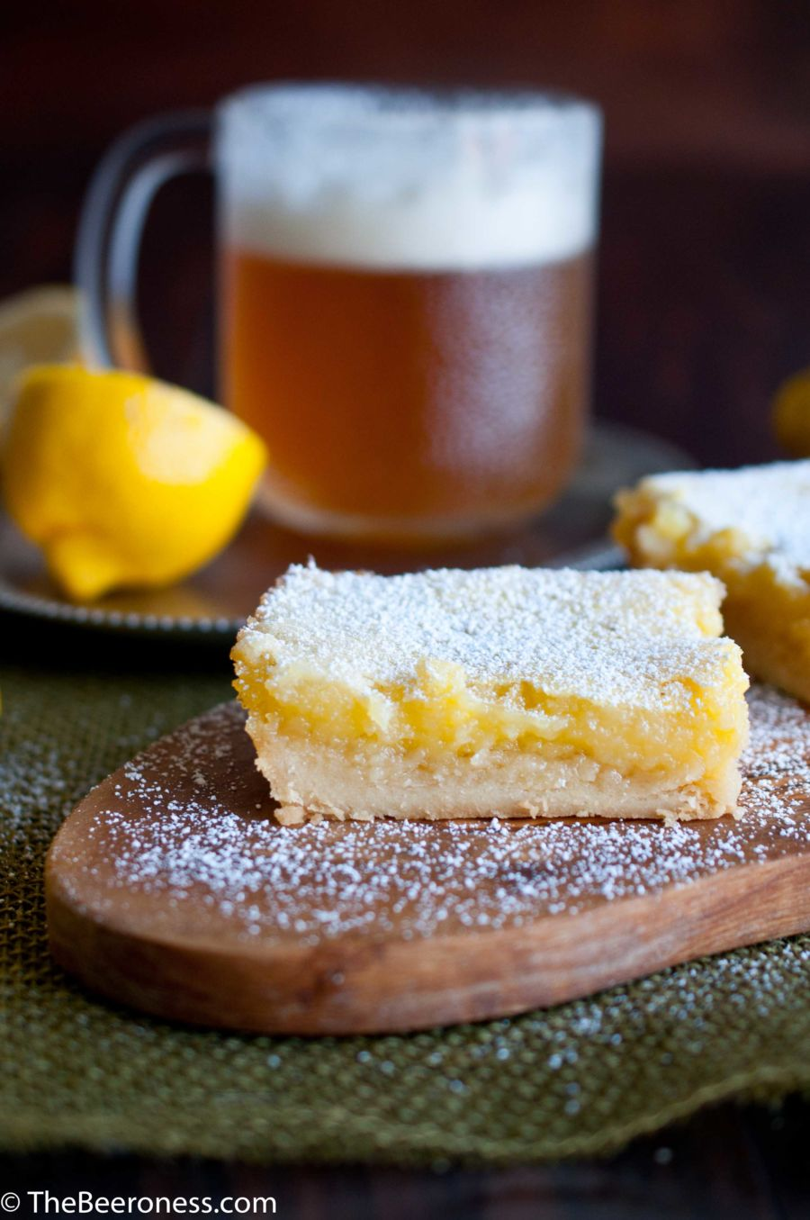 IPA Lemon Bars