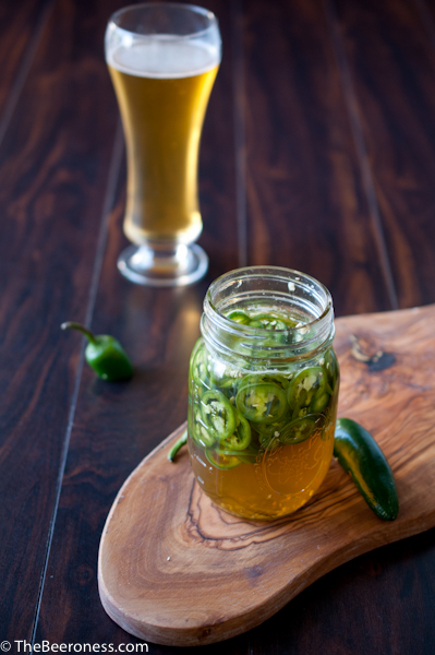Beer Pickled Jalapenos