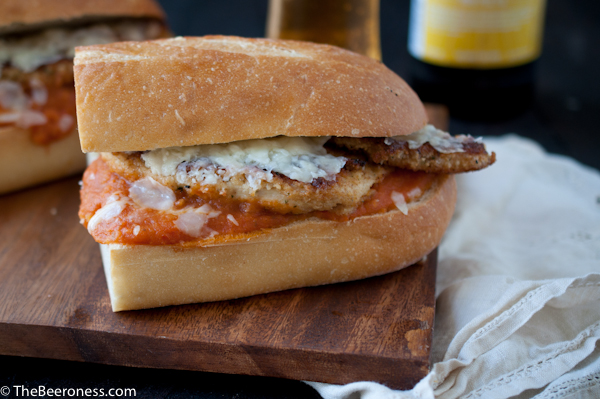 Drunken Chipotle Chicken Parmesan Sandwich2