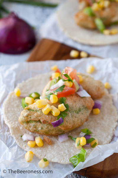 Beer Battered Avocado Tacos2