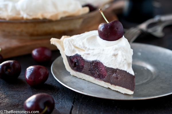 Chocolate Stout Cherry Pie