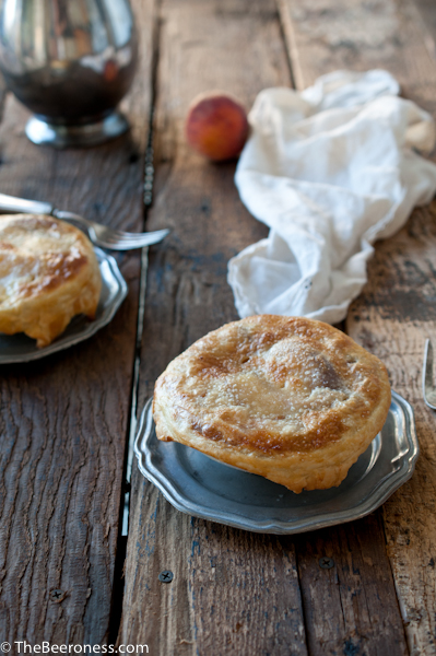 Peach and Beer Potpie