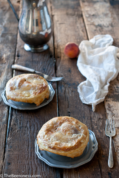 Beer and Peach Potpie
