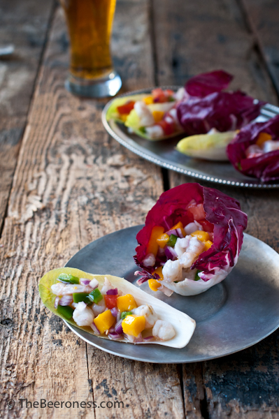 Beer Ceviche Wraps 2