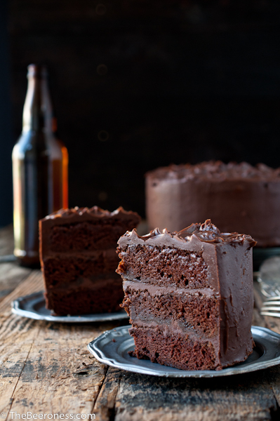 Chocolate Stout Layer Cake With Chocolate Frosting Recipes ...
