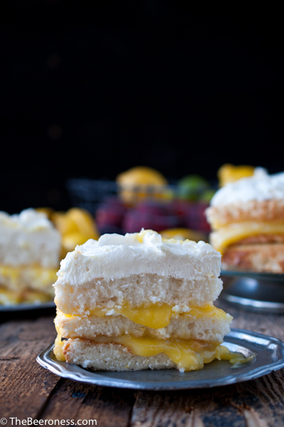 Lemon Beer Cake6