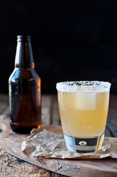 Golden Ale Beer Cocktail