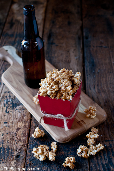 Salted Beer Caramel Corn