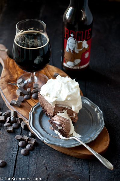 Mile High Chocolate Stout Pie