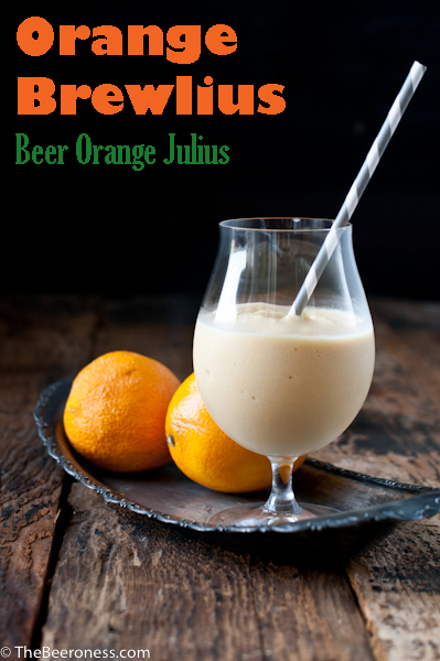 Orange Brewlius- Beer Orange Julius P
