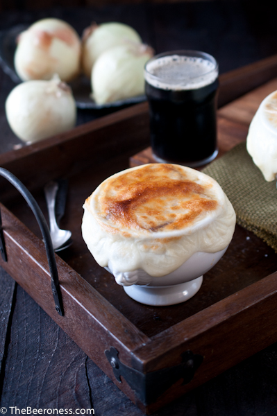 Stout French Onion Soup 6