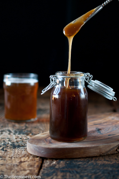 Salted Beer Caramel Sauce plus 5 More Edible Homemade Beer Gifts