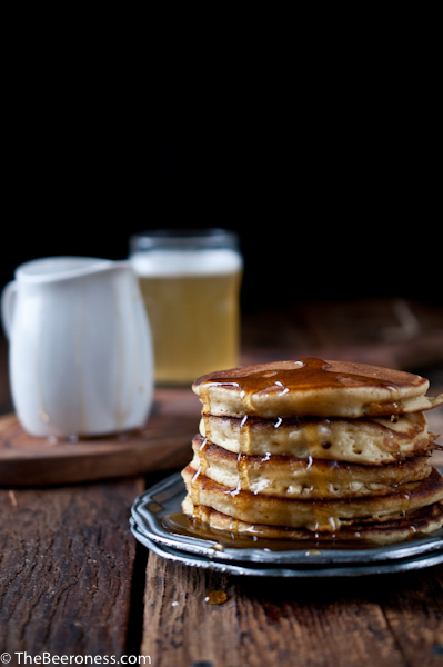 Buttermilk Beer Pancakes & How to Make Super Fluffy Pancakes
