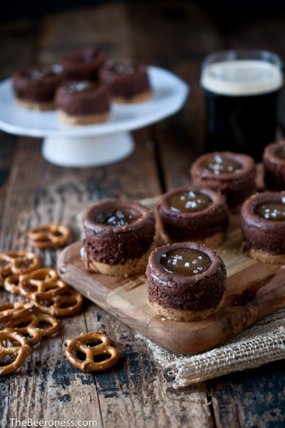 Mini-Chocolate-Stout-Cheesecakes-with-Beer-Camel-Sauce-2