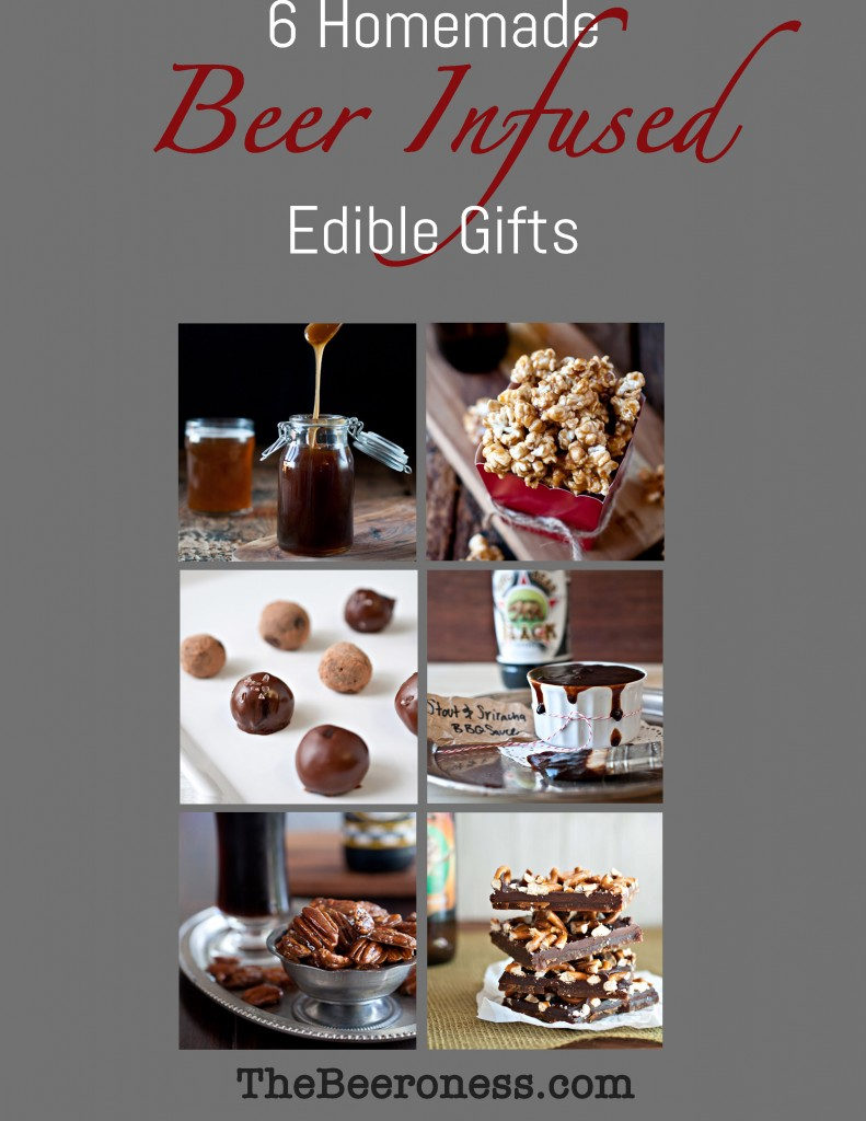 6 Homemade Beer Infused Edible Gifts