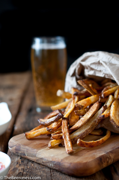 Beer Soaked Oven Fries2