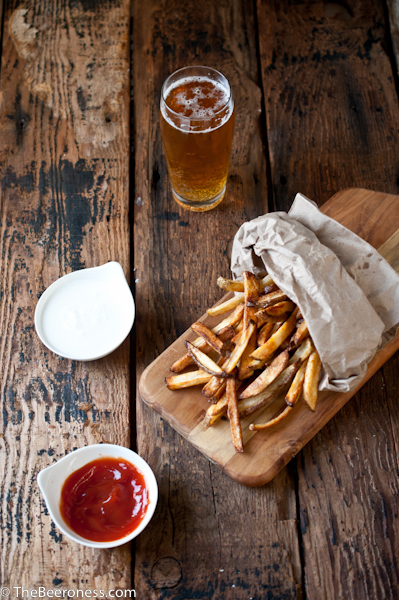 Beer Soaked Oven Fries3