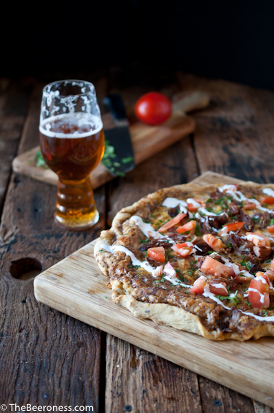Beer carnitas pizza2