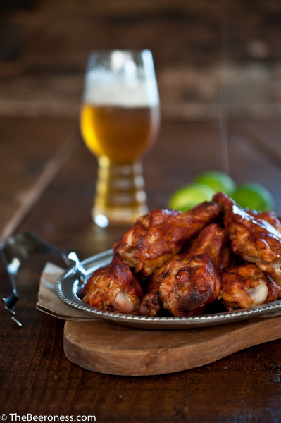 Chili Lime Beer Chicken Wings 3