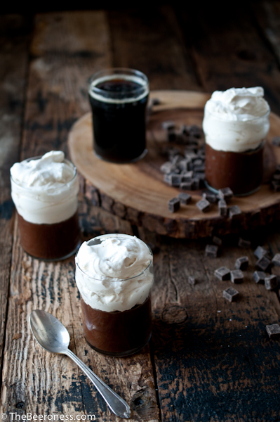 Chocolate Stout Pudding Pie