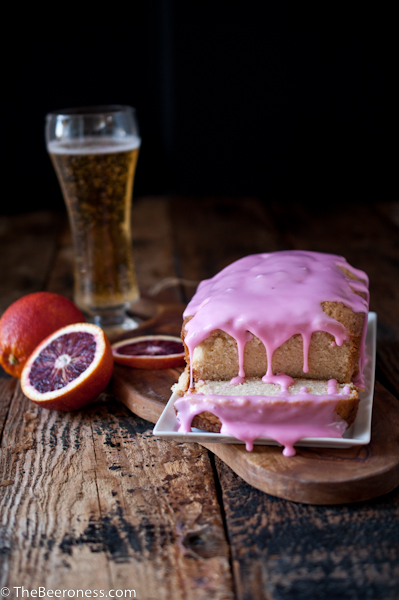 Blood Orange Beer Pound Cake2
