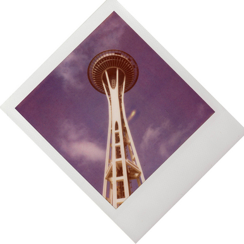 Space Needle Kim vanGroos Polaroid