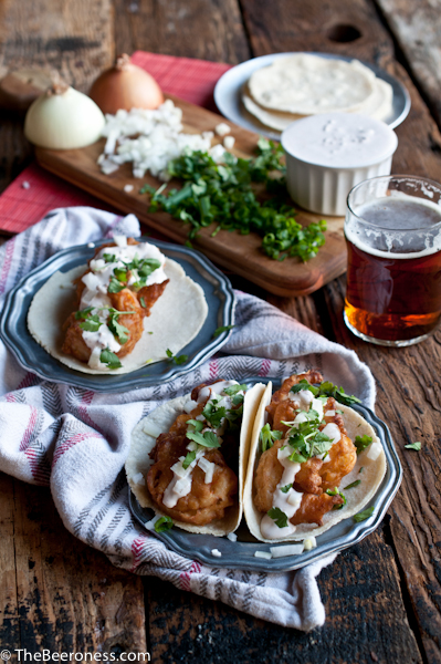 Beer Battered Shrimp Tacos with Cipotle Lime Crema4