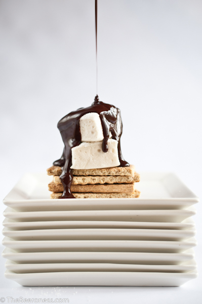 Beer Marshmallows with Mint Chocolate Stout Sauce4