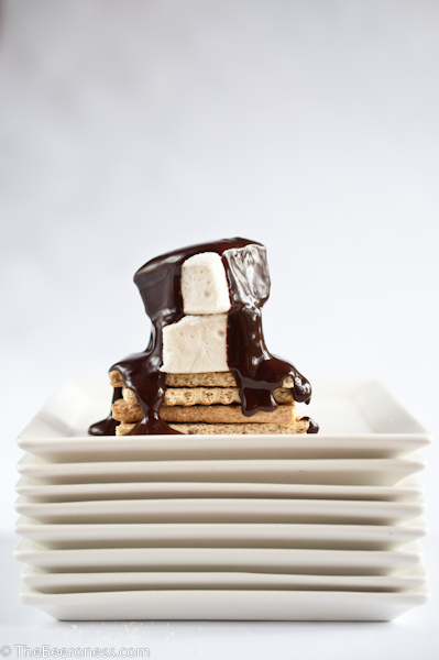 Beer Marshmallows with Mint Chocolate Stout Sauce5