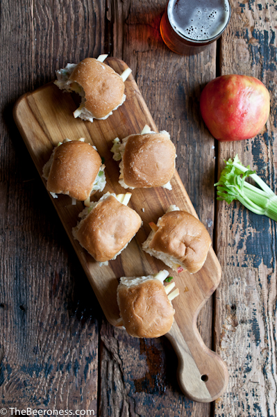 IPA Crab Salad Sliders 2