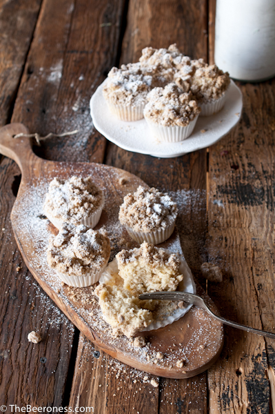 New York Crumb Cake Beer Muffins 2