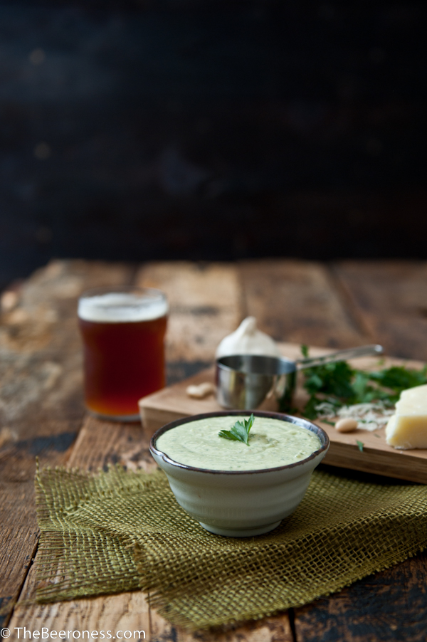 Creamy White Bean Beer Cheese Dip 2