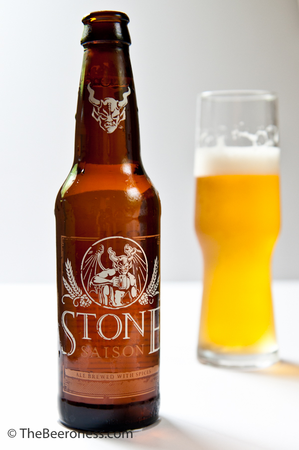 Orange Saison Sour Cream Ice Cream Stone Bottle