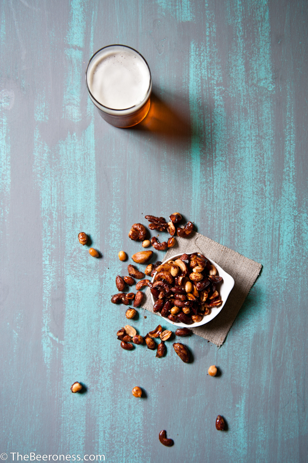 Beer and Sriracha Candied Nuts 2