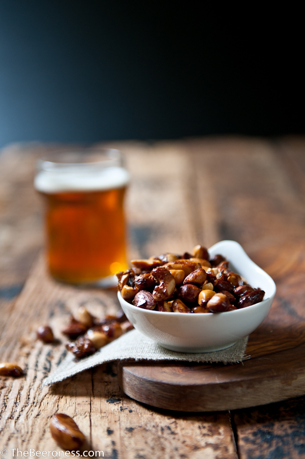 Beer and Sriracha Candied Nuts_