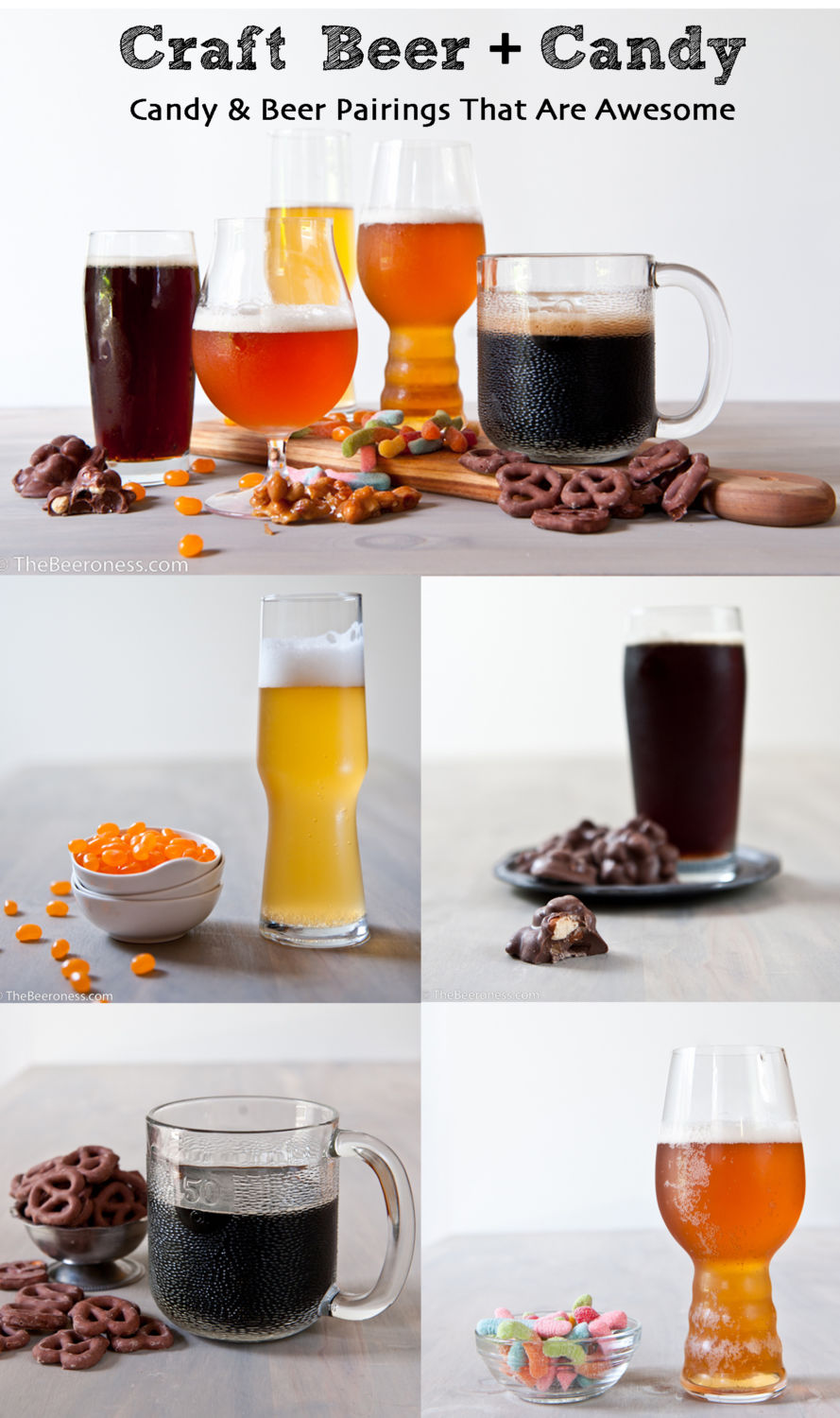 Candy and Beer Pairings That Will Rock Your Party