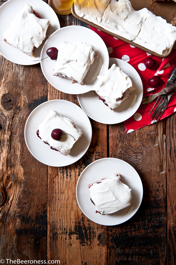 Cherry Vanilla Pale Ale Party Cake_