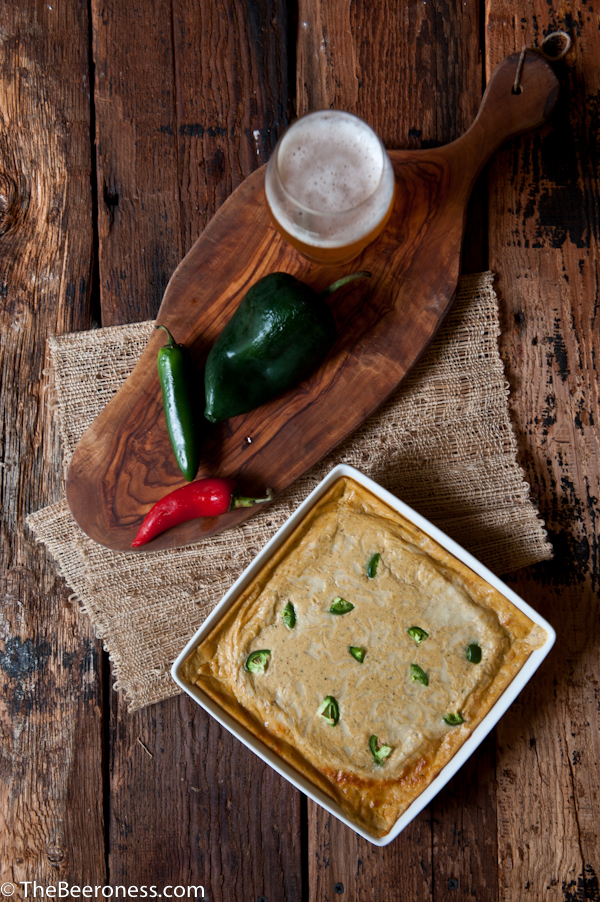 Triple Chile Beer Cheese Dip 2