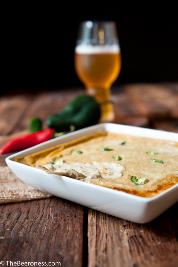 Triple Chile Beer Cheese Dip 3